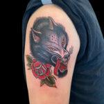 LarkTattoo, NealAultman, NealAultmanLarkTattoo, Tattoo, Tattoos, Wolf, WolfTattoo, WolfHead, WolfHeadTattoo, Rose, RoseTattoo, Traditional, TraditionalTattoo, ColorTattoo, TattooArtist, Tattoist, Tattooer, LongIslandTattooArtist, LongIslandTattooer, LongIslandTattoo, TattooOfTheDay, Tat, Tats, Tatts, Tatted, Inked, Ink, TattooInk, AmazingInk, AmazingTattoo, BodyArt, LarkTattooWestbury, Westbury, LongIsland, NY, NewYork, USA, Art, Tattedup, InkedUp, LarkTattoos