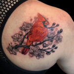 LarkTattoo, HannahClock, HannahClockLarkTattoo, FemaleTattooer, FemaleArtist, LadyTattooer, Tattoo, Tattoos, Cardinal, CardinalTattoo, Bird, BirdTattoo, ColorTattoo, CherryBlossom, CherryBlossomTattoo, SolidInk, Feminine, FeminineTattoo, BeautifulTattoo, TattooArtist, Tattoist, Tattooer, LongIslandTattooArtist, LongIslandTattooer, LongIslandTattoo, TattooOfTheDay, Tat, Tats, Tatts, Tatted, Inked, Ink, TattooInk, AmazingInk, AmazingTattoo, BodyArt, LarkTattooWestbury, Westbury, LongIsland, NY, NewYork, USA, Art, Tattedup, InkedUp, LarkTattoos