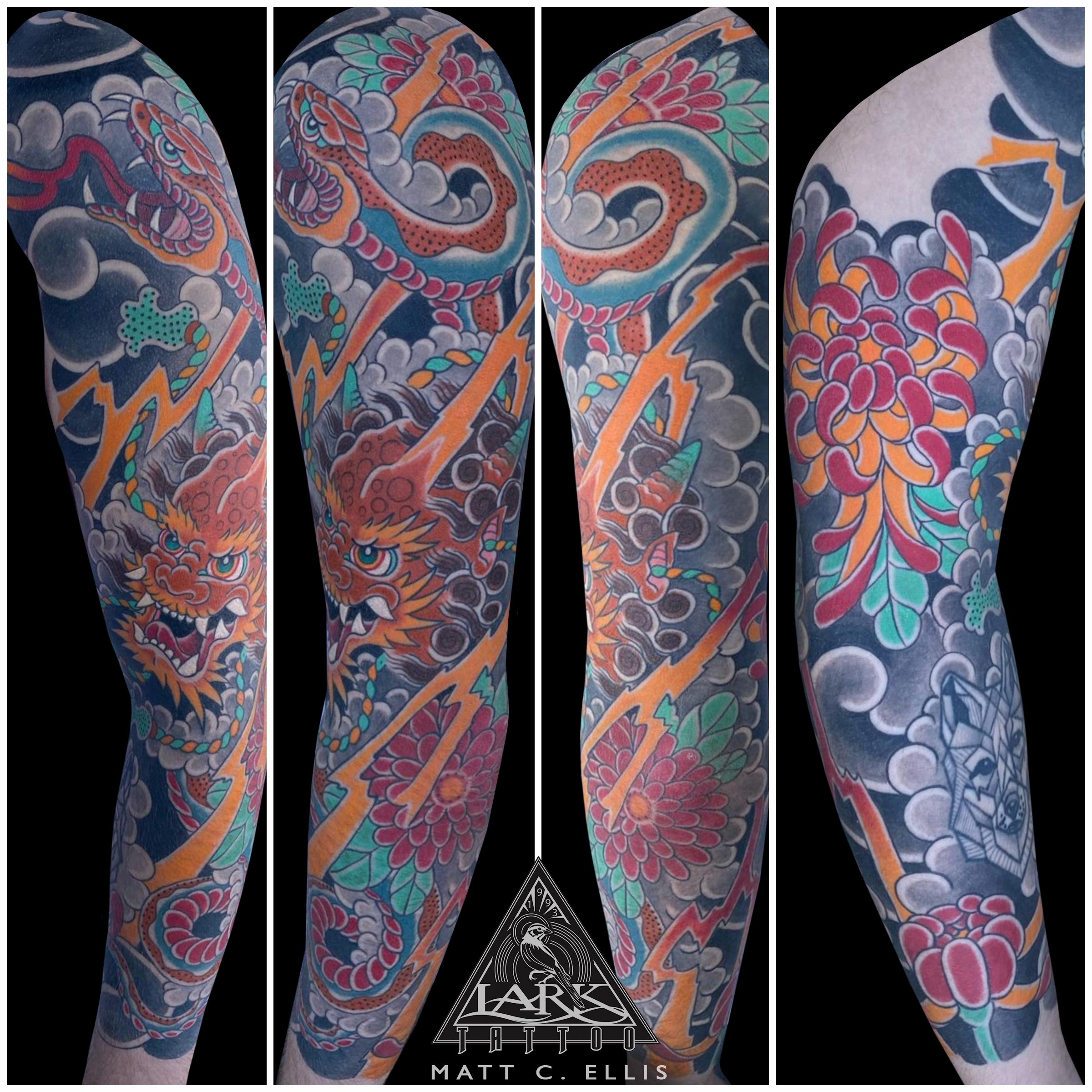#LarkTattoo #MattEllis #MattEllisLarkTattoo #Tattoo #Tattoos #Japanese #JapaneseTattoo #JapaneseColorTattoo #ColorTattoo #Snake #SnakeTattoo #Dragon #DragonTattoo #JapaneseDragon #JapaneseDragonTattoo #JapaneseSnake #JapaneseSnakeTattoo #TattooSleeve #FullSleeveTattoo #LargeScaleTattoo #ArmTattoo #Chrysanthemum #ChrysanthemumTattoo #JapaneseFlower #JapaneseFlowerTattoo #TattooArtist #Tattoist #Tattooer #LongIslandTattooArtist #LongIslandTattooer #LongIslandTattoo #TattooOfTheDay #Tat #Tats #Tatts #Tatted #Inked #Ink #TattooInk #AmazingInk #AmazingTattoo #BodyArt #LarkTattooWestbury #Westbury #LongIsland #NY #NewYork #USA #Art #Tattedup #InkedUp #LarkTattoos