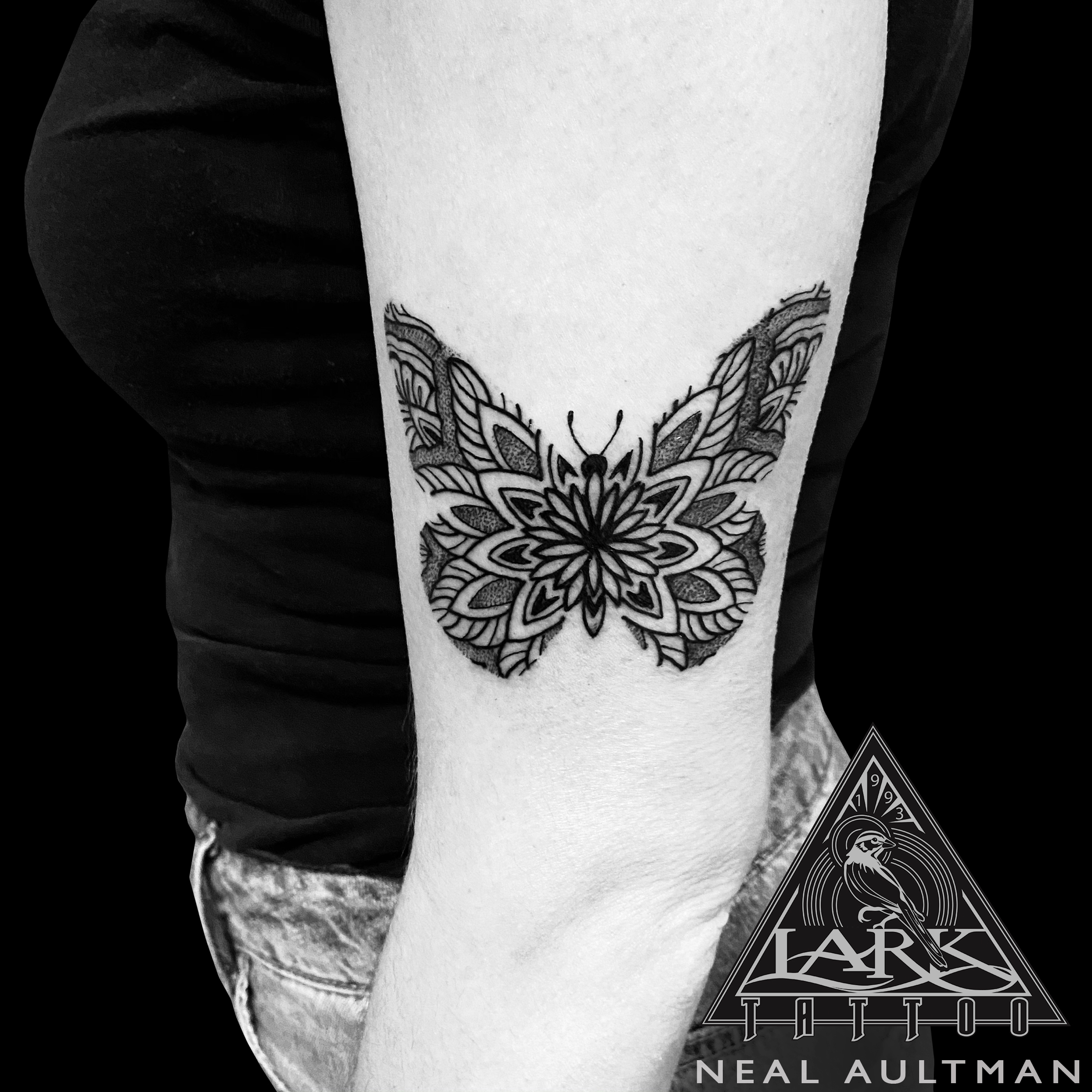 #LarkTattoo #NealAultman #NealAultmanLarkTattoo #Tattoo #Tattoos #Butterfly #ButterflyTattoo #Dotwork #DotworkTattoo #ArmTattoo #BNGTattoo #BNGInkSociety #BlackAndGray #BlackAndGrayTattoo #BlackAndGrey #BlackAndGreyTattoo #Mandala #MandalaTattoo #TattooArtist #Tattoist #Tattooer #LongIslandTattooArtist #LongIslandTattooer #LongIslandTattoo #TattooOfTheDay #Tat #Tats #Tatts #Tatted #Inked #Ink #TattooInk #AmazingInk #AmazingTattoo #BodyArt #LarkTattooWestbury #Westbury #LongIsland #NY #NewYork #USA #Art #Tattedup #InkedUp #LarkTattoos