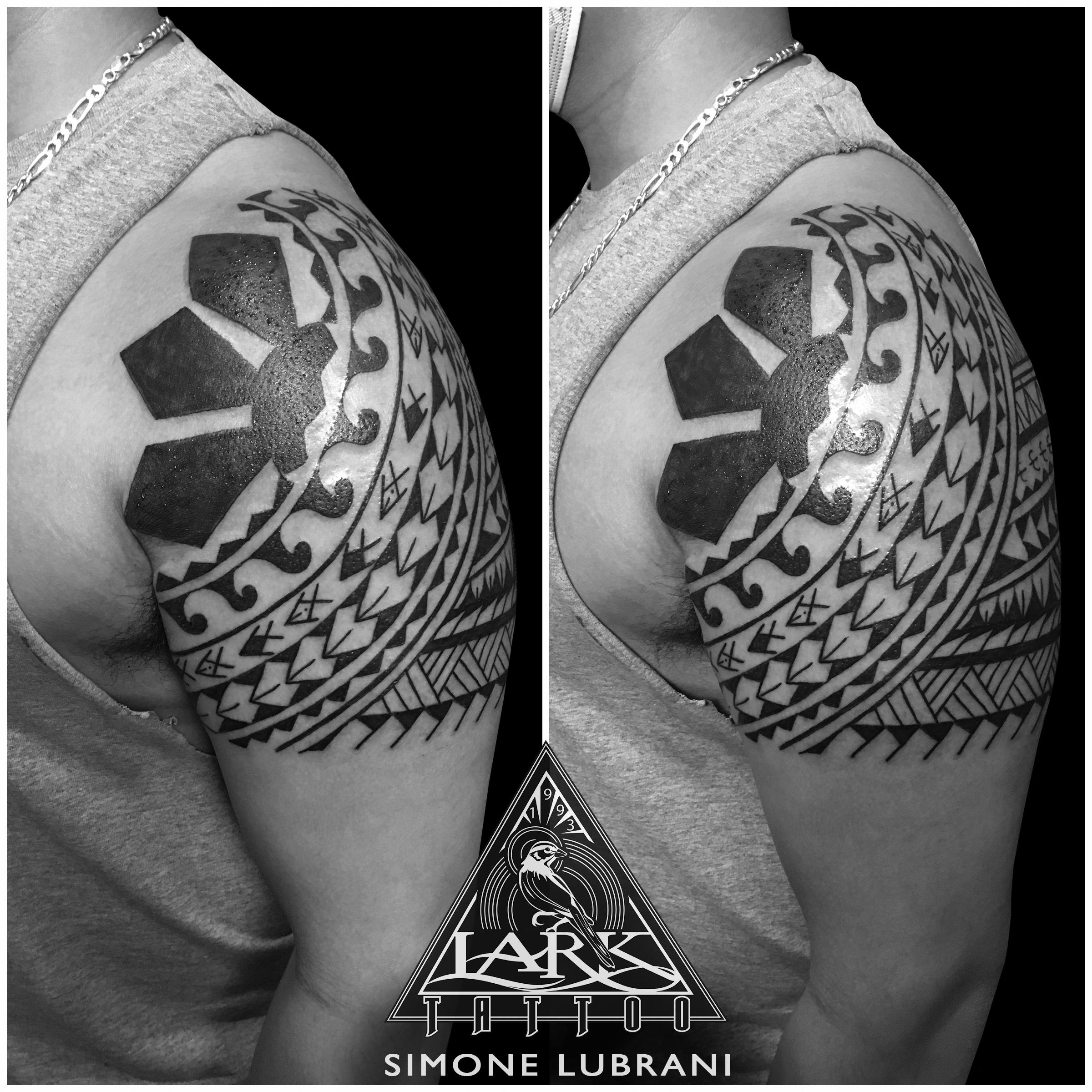 #LarkTattoo #Tattoo #SimoneLubrani #SimoneLubraniLarkTattoo #Polynesian #PolynesianStyleTattoo #PolynesianTattoo #PolynesianTattoos #PolynesianDesigns #Tribal #TribalTattoo #TribalMaori #TribalMaoriTattoo #Maori #MaoriStyleTattoo #MaoriTattoo #MaoriStyle #BlackInk #BlackInkTattoo #Tattoos #TattooArtist #Tattoist #Tattooer #LongIslandTattooArtist #LongIslandTattooer #LongIslandTattoo #TattooOfTheDay #LarkTattooWestbury #NassauTattooShop