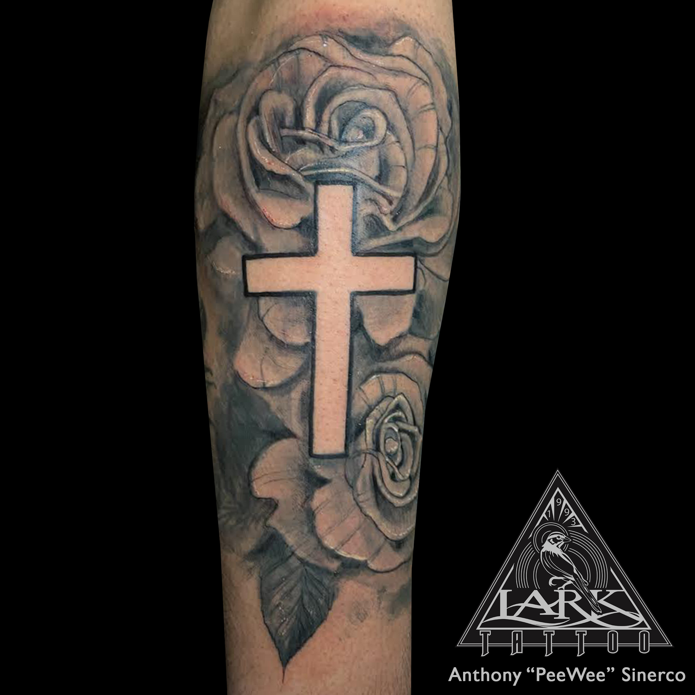 LarkTattoo, PeeWee, PeeWeeLarkTattoo, AnthonyPeeWeeSinerco, AnthonySinerco, Tattoo, Tattoos, BlackAndGray, BlackAndGrayTattoo, BlackAndGrey, BlackAndGreyTattoo, BNG, BNGInk, BNGInkSociety, BNGTattoo, Rose, RoseTattoo, Cross, CrossTattoo, Religious, ReligiousTattoo, TattooArtist, Tattoist, Tattooer, LongIslandTattooArtist, LongIslandTattooer, LongIslandTattoo, TattooOfTheDay, Tat, Tats, Tatts, Tatted, Inked, Ink, TattooInk, AmazingInk, AmazingTattoo, BodyArt, LarkTattooWestbury, Westbury, LongIsland, NY, NewYork, USA, Art, Tattedup, InkedUp, LarkTattoos