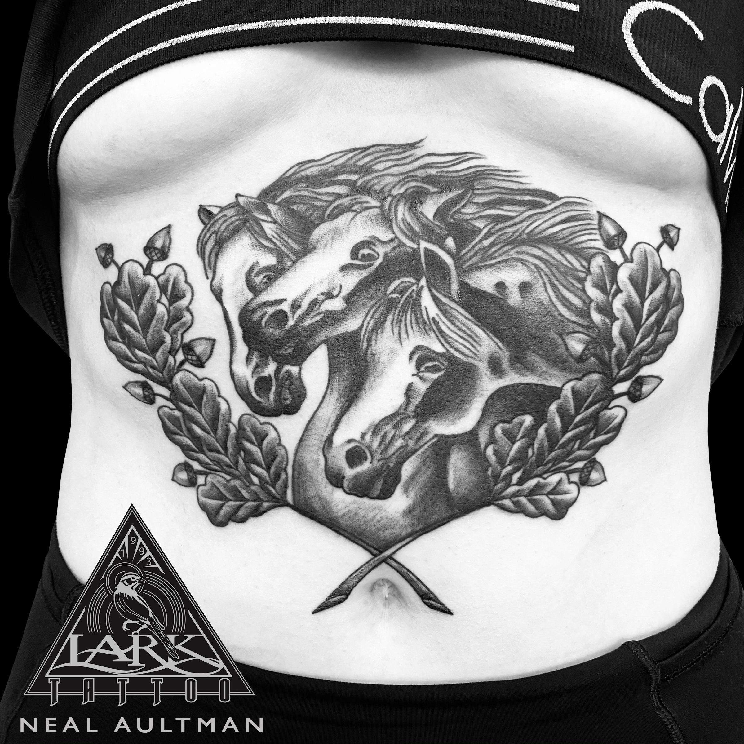 . #LarkTattoo #NealAultman #NealAultmanLarkTattoo #Tattoo #Tattoos #Horse #HorseTattoo #Horses #HorsesTattoo #WildHorses #WildHorsesTattoo #AnimalTattoo #BNG #BNGTattoo #BlackAndGray #BlackAndGrayTattoo #BlackAndGrey #BlackAndGreyTattoo #BNGInkSociety #StomachTattoo #TattooArtist #Tattoist #Tattooer #LongIslandTattooArtist #LongIslandTattooer #LongIslandTattoo #TattooOfTheDay #Tat #Tats #Tatts #Tatted #Inked #Ink #TattooInk #AmazingInk #AmazingTattoo #BodyArt #LarkTattooWestbury #Westbury #LongIsland #NY #NewYork #USA #Art #Tattedup #InkedUp #LarkTattoos