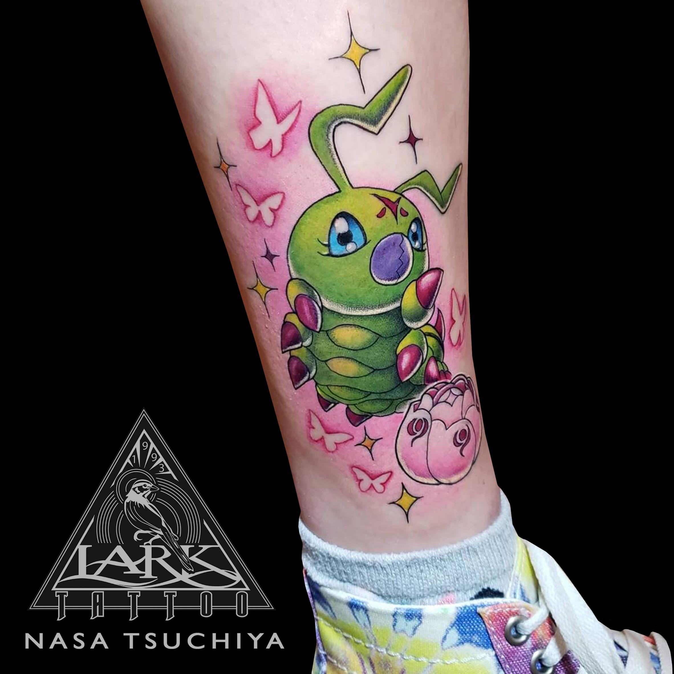 LarkTattoo, Tattoo, NasaTsuchiya, NasaTsuchiyaLarkTattoo, Tattoos, FemaleTattooer, FemaleArtist, LadyTattooer, Digimon, DigimonTattoo, Wormmon, WormmonTattoo, LarvaDigimon, LarvaDigimonTattoo, ワームモン, Anime, AnimeTattoo, ColorTattoo, DigimonAdventures, DigimonAdventuresTattoo, Otaku, OtakuTattoo, Kawaii, KawaiiTattoo, CuteTattoo, TattooArtist, Tattoist, Tattooer, LongIslandTattooArtist, LongIslandTattooer, LongIslandTattoo, TattooOfTheDay, Tat, Tats, Tatts, Tatted, Inked, Ink, TattooInk, AmazingInk, AmazingTattoo, BodyArt, LarkTattooWestbury, Westbury, LongIsland, NY, NewYork, USA, Art, Tattedup, InkedUp, LarkTattoos